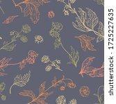 geum rivale flowers  wild... | Shutterstock .eps vector #1725227635