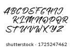 calligraphy decorative abc...   Shutterstock .eps vector #1725247462