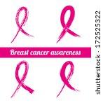 cancer over pink background... | Shutterstock .eps vector #172525322