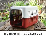 Plastic Pet Carrier For Cat On...