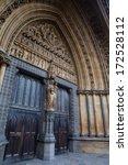 westminster abbey door with... | Shutterstock . vector #172528112