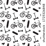 vector seamless pattern of... | Shutterstock .eps vector #1725326848