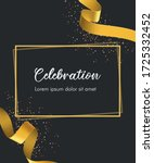 celebration invitation card... | Shutterstock .eps vector #1725332452