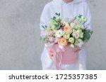 Big Flowers Arrangement In A...