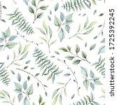 Herbal Seamless Pattern Of...