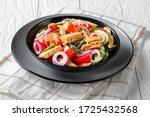 healthy canned tuna salad with...