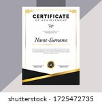 Awesome Elegant Certificate...