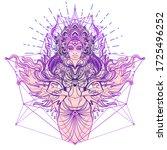 Asian Magic Woman With Sacred...