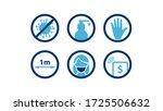 practical prevention tips for... | Shutterstock .eps vector #1725506632