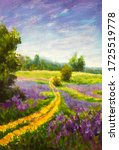 Flowers Oil Painting Summer...