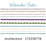 Watercolor Edge Free Brushes - (306 Free Downloads)