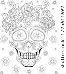black and white anti stress... | Shutterstock .eps vector #1725611692