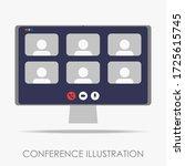 modern minimalist conference...