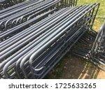 Gray Color Metal Fences Police...