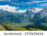 Switzerland  Panoramic View On...