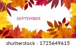 horizontal banner with bright... | Shutterstock .eps vector #1725649615