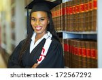 beautiful african female... | Shutterstock . vector #172567292