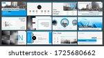blue black  elements for...   Shutterstock .eps vector #1725680662