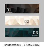 labels abstract geometric... | Shutterstock .eps vector #172573502