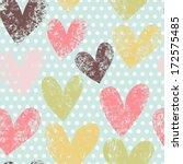 gentle romantic seamless...   Shutterstock .eps vector #172575485