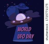 postcard or banner for world... | Shutterstock .eps vector #1725771175