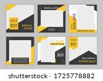 editable template post for... | Shutterstock .eps vector #1725778882