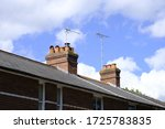 Two Isolated Chimney Stacks And ...