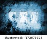 abstract dark blue new... | Shutterstock . vector #172579925