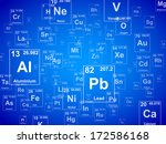 periodic table of the elements. ...   Shutterstock .eps vector #172586168