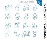 coronavirus protection related...   Shutterstock .eps vector #1725869122