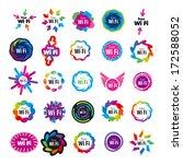 biggest series of wifi vector... | Shutterstock .eps vector #172588052