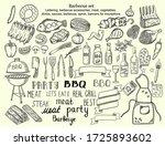 vector hand drawn illumination...   Shutterstock .eps vector #1725893602