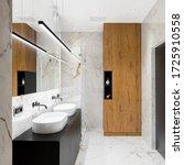 Luxury Bathroom With Marble...