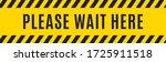 please wait here yellow warning ...   Shutterstock .eps vector #1725911518