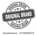 original brand stamp. original... | Shutterstock .eps vector #1725946972