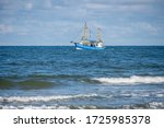 Fishing Trawlers Off The Coast...