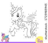 educational game for children.... | Shutterstock .eps vector #1725985945