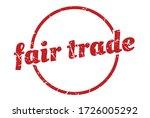 fair trade sign. fair trade... | Shutterstock .eps vector #1726005292