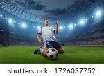 Soccer Player Celebrates A...