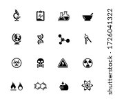 science icons    black series | Shutterstock .eps vector #1726041322