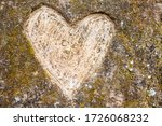 Heart Shape Etched Into The...