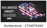 modern isometric concept of usa ... | Shutterstock .eps vector #1726076362