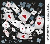 asino banner. casino playing...   Shutterstock .eps vector #1726175182