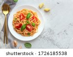 Pasta With Cherry Tomatoes ...