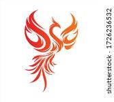 Flying Phoenix Fire Bird...