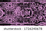 multi color motif pattern ... | Shutterstock . vector #1726240678