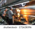 Crowded Kitchen  A Narrow Aisl...