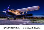 Old Vintage Classic Airplane O...