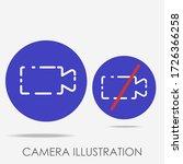 minimalist camera flat...