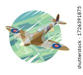 Vector Drawing Of A Supermarine ...
